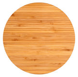 Round wooden board Royalty Free Stock Images