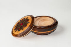 Round Wooden Box Stock Photos