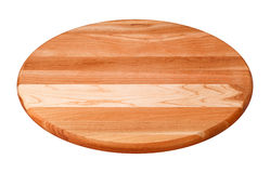 Round Wooden Cutting Board Royalty Free Stock Photography