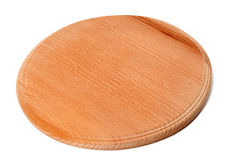 Round wooden kitchen board Stock Photography