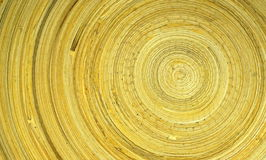 Round wooden pattern. royalty free stock photo