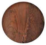 Round wooden shield background Royalty Free Stock Photo