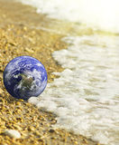 Round-the-world travel. Royalty Free Stock Images