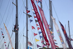 Round the World Yacht Race Royalty Free Stock Photos