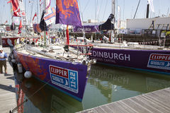 Round the World Yacht Race Stock Photos