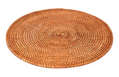Round Woven Place Mat Stock Images