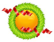Round wreath Royalty Free Stock Photography