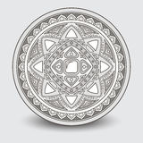 Round wzór, dekoracyjny element Zdjęcie Stock