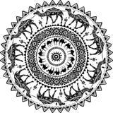 Round wzór z dekorującymi wielbłądami Zdjęcie Royalty Free
