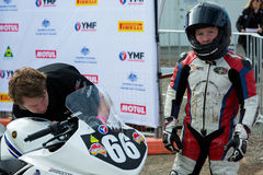 Round 3 - 2017 Yamaha Motor Finance Australian Superbike Championship Stock Images