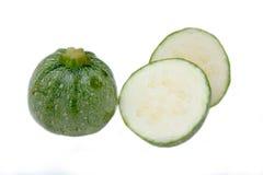 Round zucchini Stock Photos