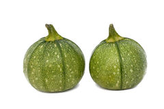 Round Zucchini Isolated Royalty Free Stock Photography