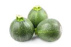 Round zucchini Stock Photography
