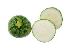 Round zucchini from Royalty Free Stock Images