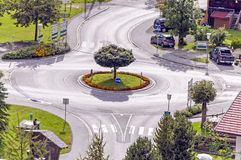 roundabout Photographie stock