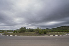 roundabout photo stock