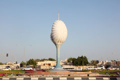 Roundabout in Al Wakra. Qatar Royalty Free Stock Images