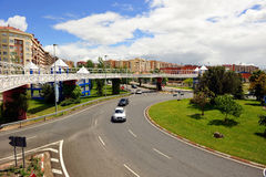 Roundabout, Caceres , Extremadura, Spain Stock Photo