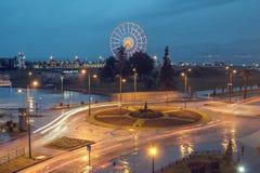 roundabout fotografía de archivo