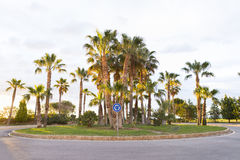Roundabout. royalty free stock photos