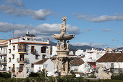 Roundabout in Estepona, Spain Stock Photos