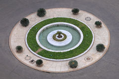 Roundabout Garden Royalty Free Stock Image
