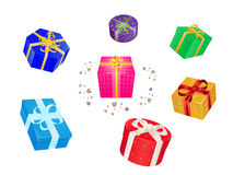 Roundabout of gifts Stock Photography