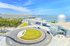 Roundabout in Macau modern city at day Royalty Free Stock Image