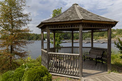 Roundabout in Muskoka lake Stock Photography