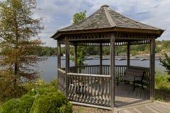 Roundabout in Muskoka lake. Canada Stock Photography