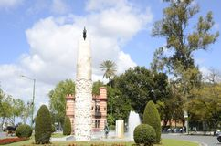 Roundabout in Seville Royalty Free Stock Photos