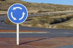 Roundabout signal Royalty Free Stock Image