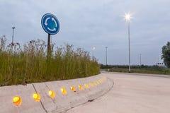 Roundabout Stock Image