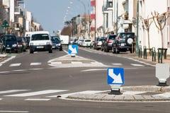 roundabout traffic circle rotary Stock Photos