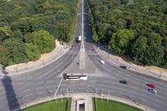 Roundabout traffic Stock Photo