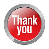 Thank you. Stamp sticker - editable vector illustration on isolated white background vector illustration