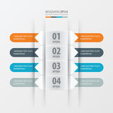 Rounded  banner set  Orange , blue, gray color. Vector design eps10 Stock Photography