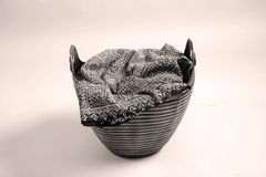 Rounded basket Royalty Free Stock Photos