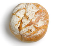 Rounded bread from above Royalty Free Stock Photos