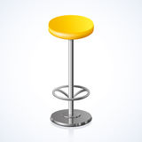 Rounded chair. Vector illustration Royalty Free Stock Photos