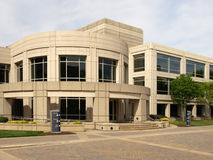 Rounded Contemporary Office Building stock photo