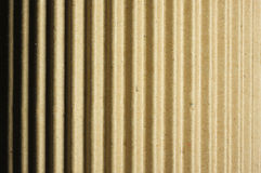 Rounded Corrugated Cardboard Stock Photo