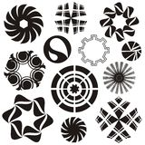 Rounded design elements Royalty Free Stock Image