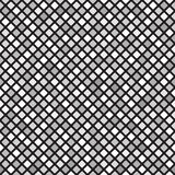 Rounded diamond pattern. Seamless vector gray and white background Royalty Free Stock Photo