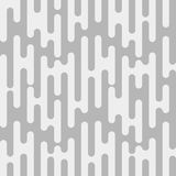 Rounded Lines Seamless Pattern Background. Grey and white abstract background with rounded lines pattern Vector Illustration