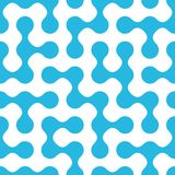 Rounded maze seamless pattern. Vector illustration for your design, eps10 Royalty Free Stock Image