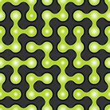 Rounded maze seamless pattern. Vector illustration for your design, eps10 Royalty Free Stock Images