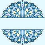 Rounded ornament. With space for your text Royalty Free Stock Photo