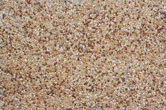 Rounded pebble stones cement Stock Images