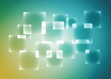 Rounded rectangle abstract background, vector, illustration. Stock Photography